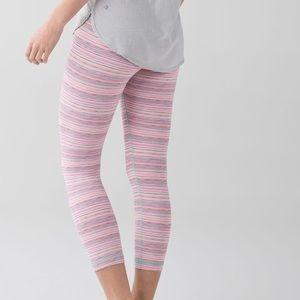 Lululemon Mulitcolor Leggings   Size 10